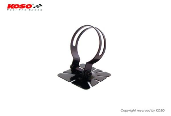 Adhesive, adjustable meter bracket for D48 meter