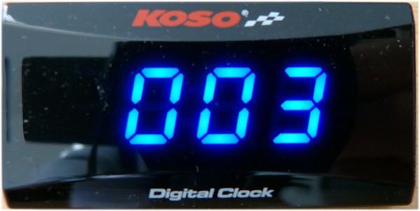 Koso Super Slim line clock