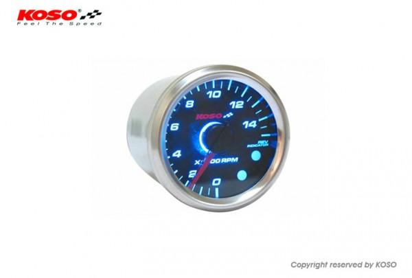 GP Style D48 Tachometer (max. 15000 RPM black)