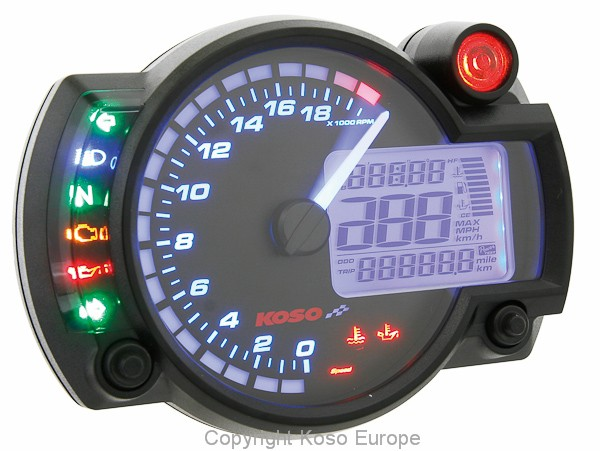 RX2N+ GP Style Speedometer ~20,000 RPM - new Software TÜV approved