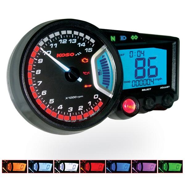 GP style Speedometer RX2 | E-Zeichen geprüft / ABE