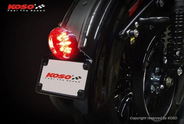 High-Power LED Taillight SOLAR red lens
