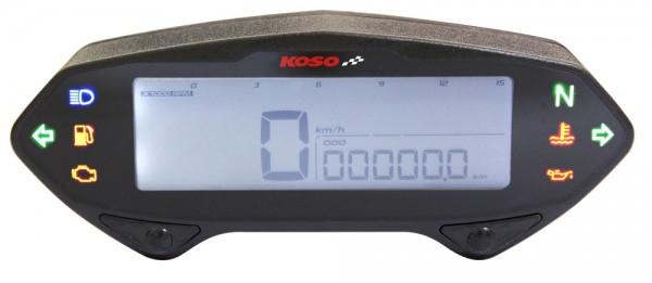 Anleitung DB01RN Tachometer mit Drehzahlmesser, mit E-Zeichen mit ABE