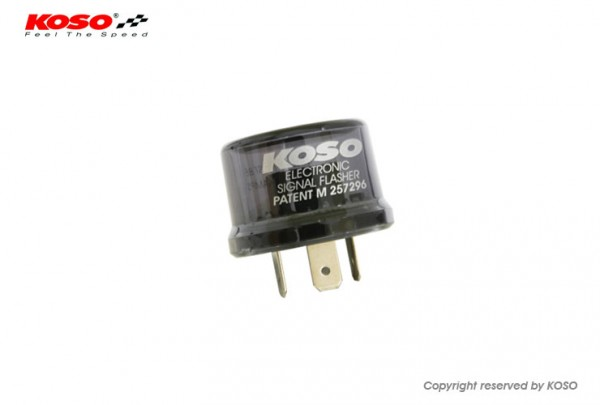 Indicator relay KOSO Digital - for synchronisation of indicators with LED and bulbs