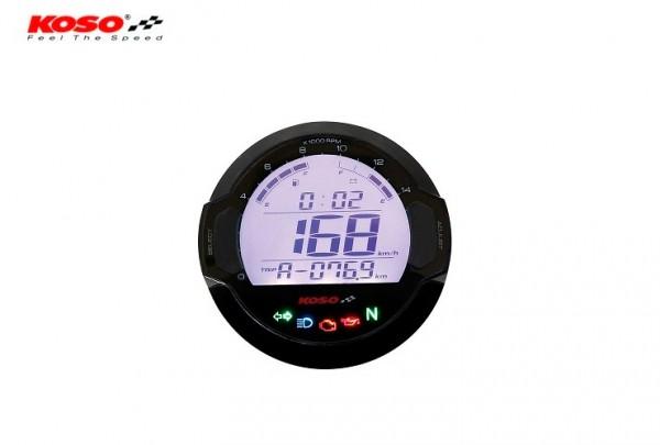 D64 DL-03SR Tachometer & Drehzahlmesser + Signalleuchten (LCD Display) mit ABE/KBA