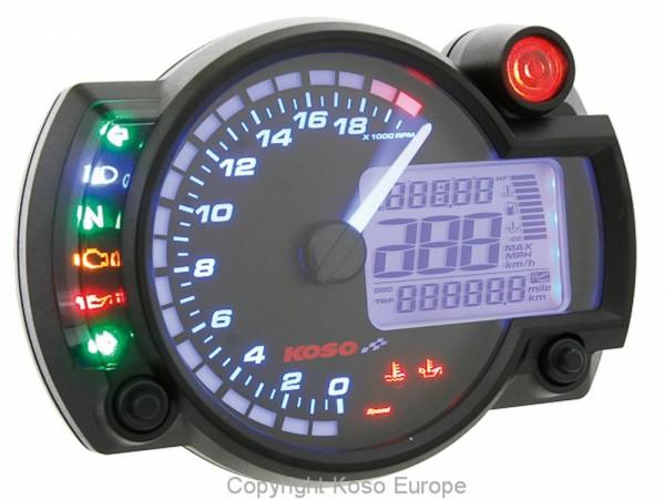 RX2N+ GP Style Speedometer RX2N ~20,000 RPM - neue Software mit ABE/KBA