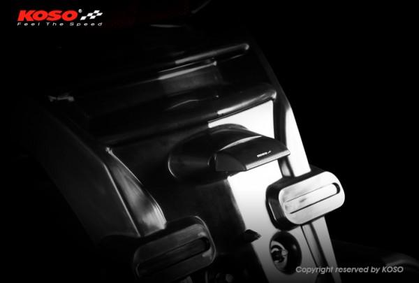 LED license plate light, Blade (black) e-approved