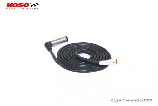 Koso Geschwindigkeitssensor 1550mm (aktiv, weisser Stecker)