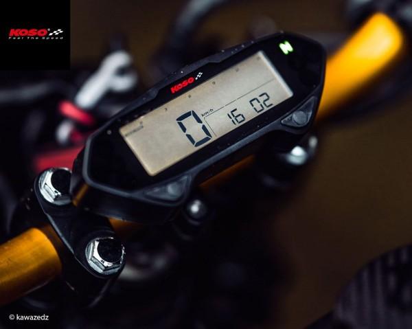 DB01RN Tachometer mit Drehzahlmesser, mit E-Zeichen mit ABE