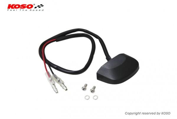 LED Nummernschildbeleuchtung, CURVE (schwarz) E-geprüft