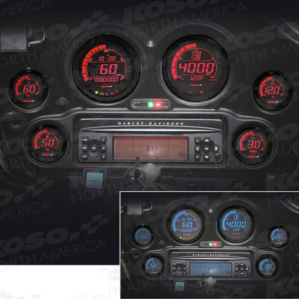 Koso HD-02 Set fuer Harley Davidson