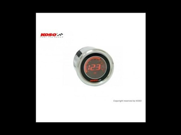 D48 Spannungsanzeige (schwarz LCD - rot)