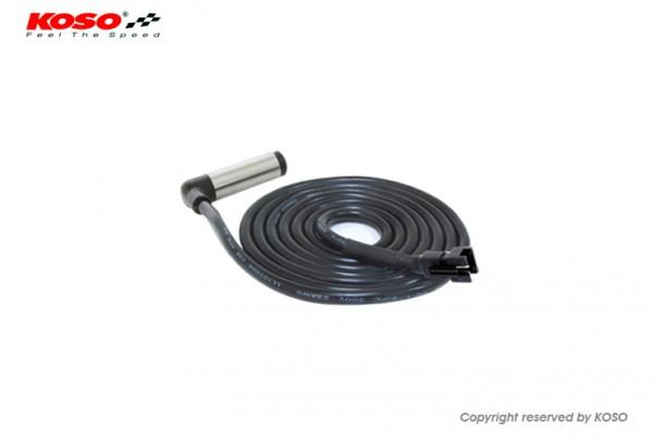 Geschwindigkeitssensor 2000mm (aktiv, schwarzer Stecker)