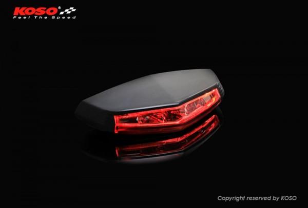 KOSO LED-Ruecklicht GT-01 (rotes Glas) E-geprüft