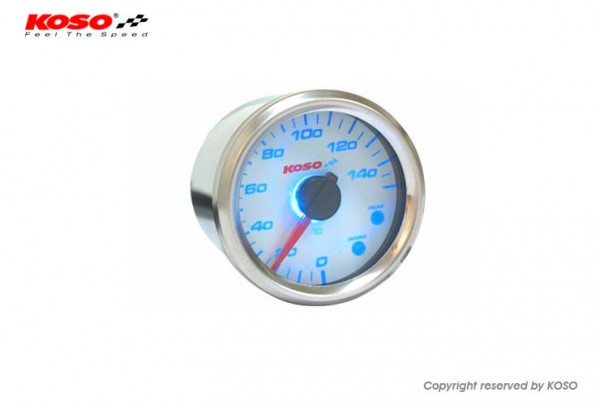 GP Style D48 Thermometer (max. 150 degrees C - white)