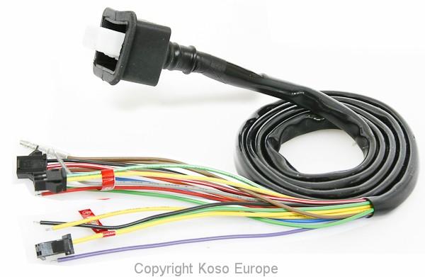 Main wire RX1N, RX2