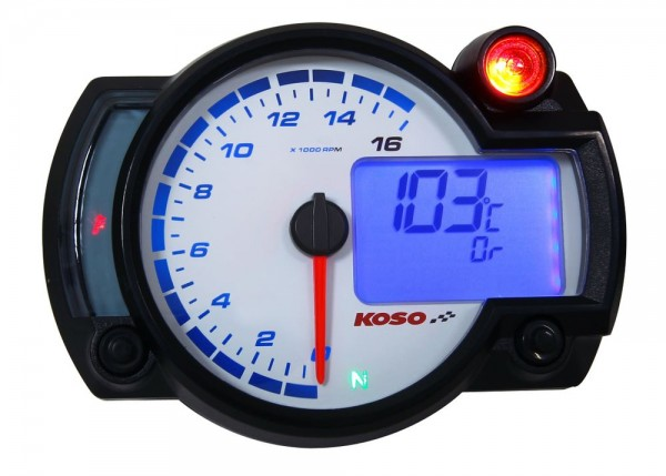 instruction manual RX2NR+ - Tachometer with thermometer and temp. alarm - shiftlight