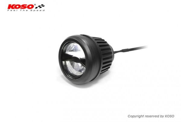 KOSO Star LED Nebelscheinwerfer schwarz E-geprüft