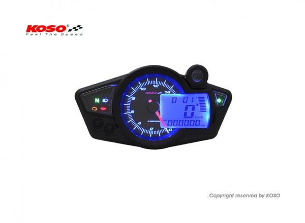 RX1N GP Style (black/blue back light) TÜV-approved