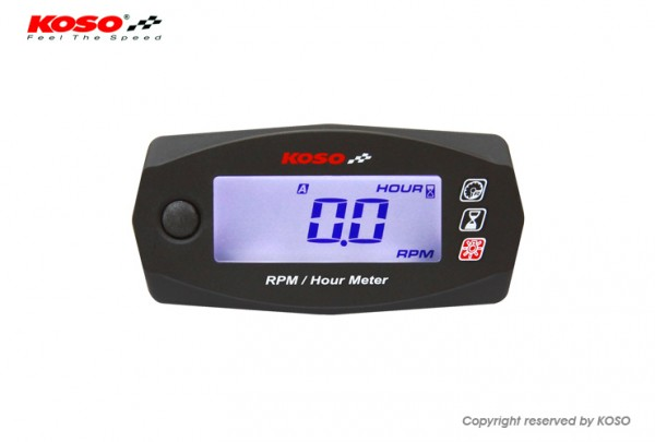 RPM & Hour Meter Mini 4