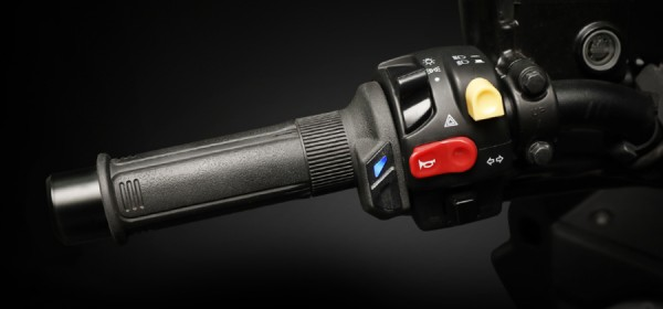 """Heated Grip 1"""" + 1 1/8"""" L=130mm (HG-13 with integrated switch)"""