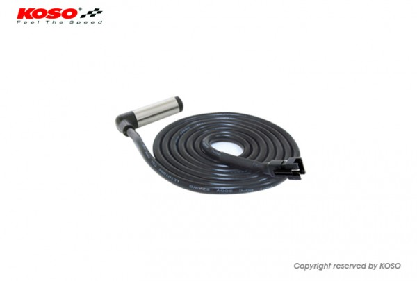 Speed sensor 2000mm (passive, black connector)