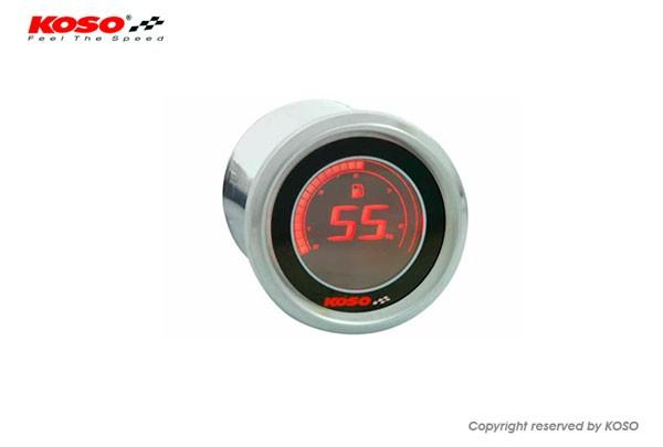 D48 Benzinstandsanzeige (schwarz LCD - rot)