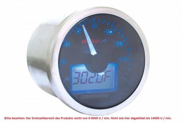 Anleitung für Eclipse Style Drehzahlmesser Koso, schwarzes Display Anzeige 0-9000 * 16000