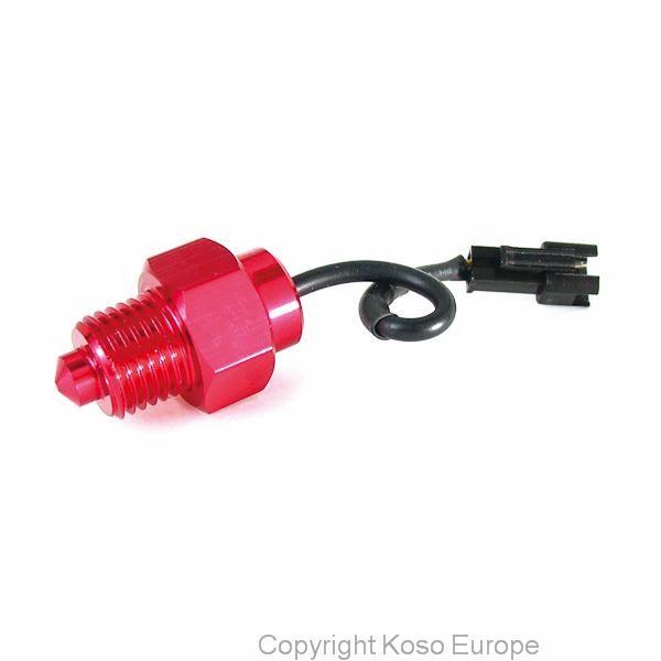 Temperature sensor M16xP1.5 (150°c, black connector)