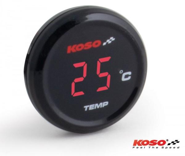 Koso Coin-Thermometer rote Anzeige