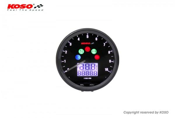 D64 Custom Style Multimeter schwarz 10000 U/Min mit ABE/KBA