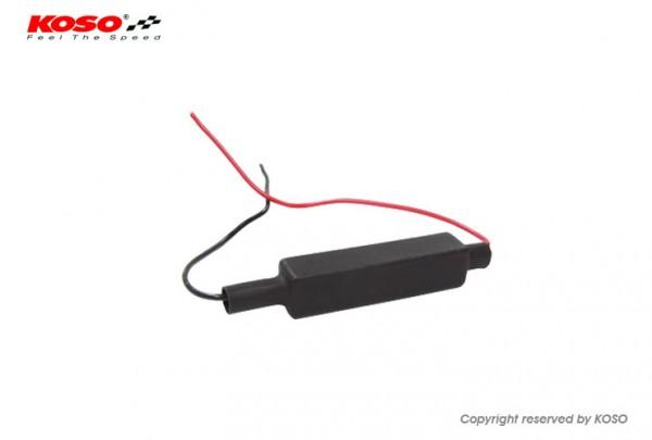 Widerstand fuer LED Blinker - 10W 3 Ohm - Kit aus 2 Widerstaenden