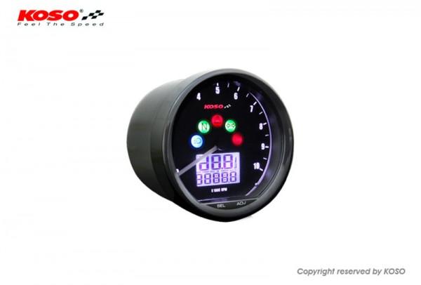 Anleitung D64 Custom Style Multimeter schwarz 10000 U/Min mit ABE/KBA