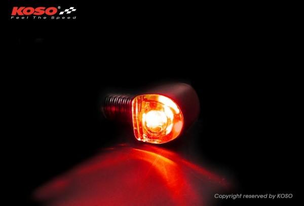 NANO LED Rücklicht schwarz matt