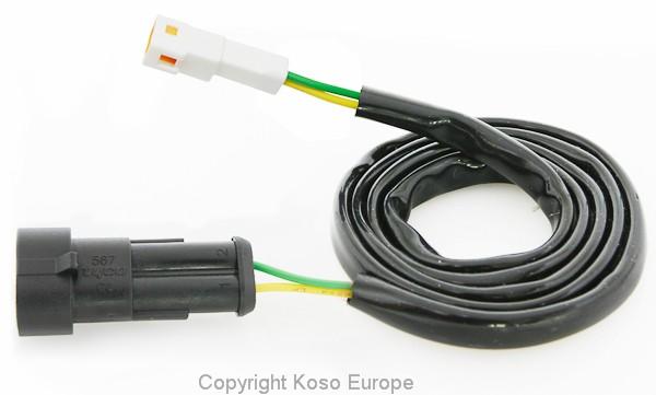 Lambda Passiv-Sensor Adapterkabel (weisser Stecker)