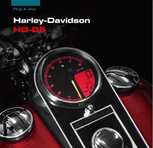 HD-05 Meter for Harley Davidson (2014+ models)