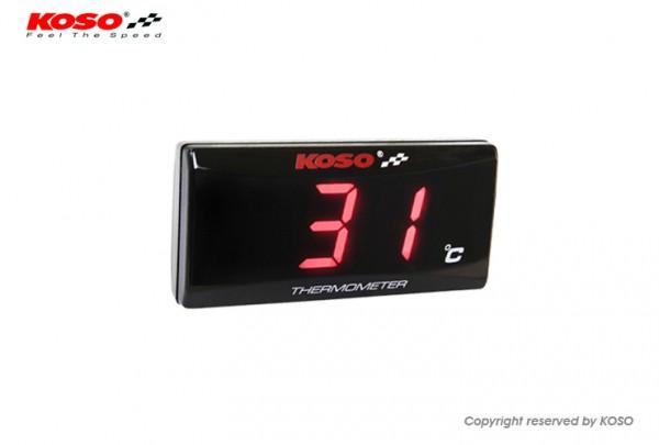 Thermometer SUPER SLIM red