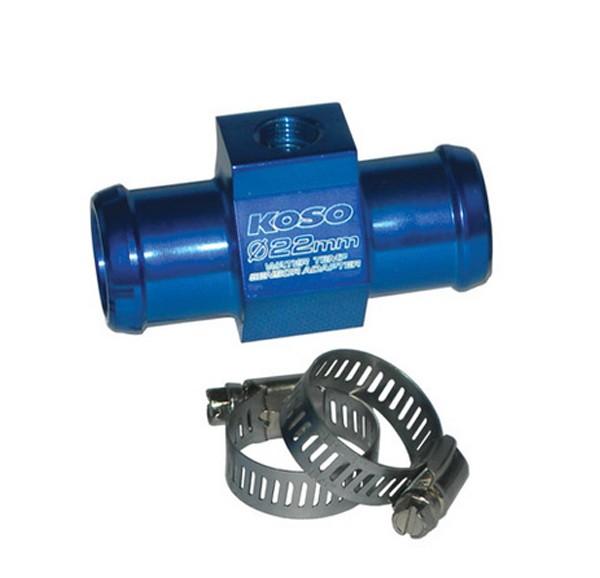 Water temperature sensor adapter 22mm diameter